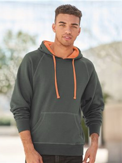 J. America - Shadow Fleece Hooded Pullover Sweatshirt - 8883