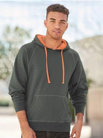 J. America - Shadow Fleece Hooded Pullover Sweatshirt - 8883