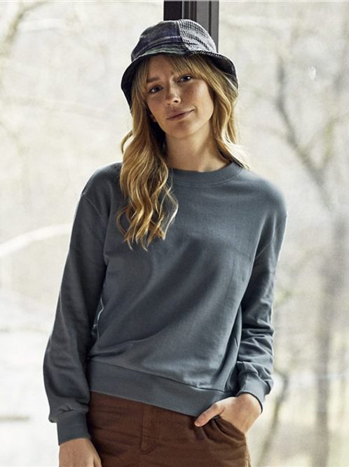 Alternative - Women's Washed Terry Throwback Pullover - 9903CT