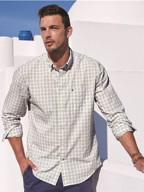 Tommy Hilfiger - Long Sleeve Plaid Shirt - 13H1860