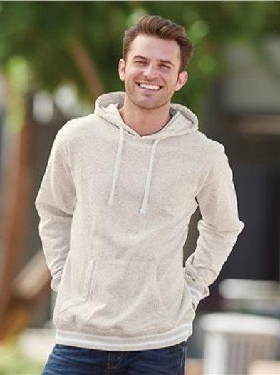 J. America - Relay Fleece Hooded Sweatshirt - 8649