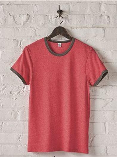 Alternative - Eco Mock Twist Ringer Crew T-Shirt - 1957