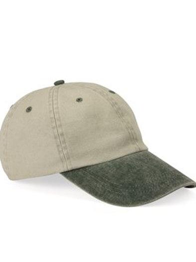 Mega Cap - Pigment Dyed Cotton Twill Cap - 7601