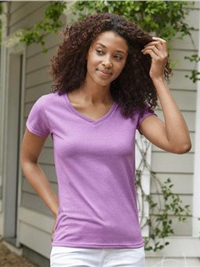 Gildan - Heavy Cotton™ Women's V-Neck T-Shirt - 5V00L