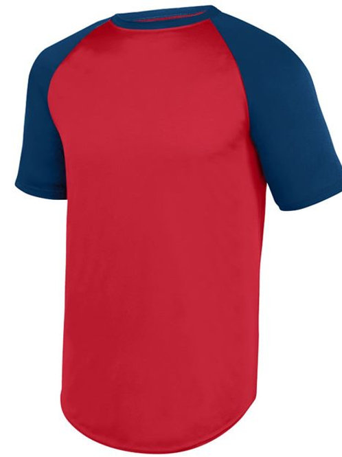 Augusta Sportswear - Youth Wicking Short Sleeve Baseball Jersey - 1509
