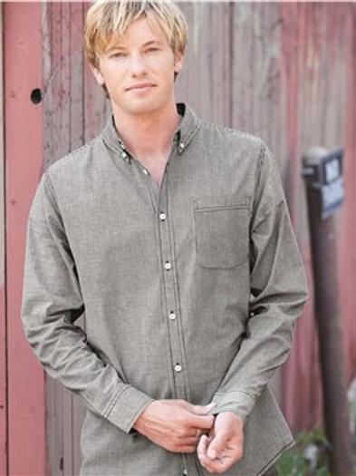 Burnside - Stretch-Stripe Long Sleeve Shirt - 8259