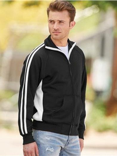 J. America - Vintage Polyester Fleece Track Jacket - 8858