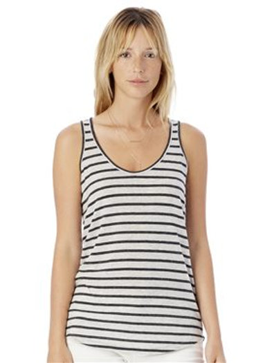 Alternative - Women's Castaway Eco-Jersey Stripe Tank Top - 2001