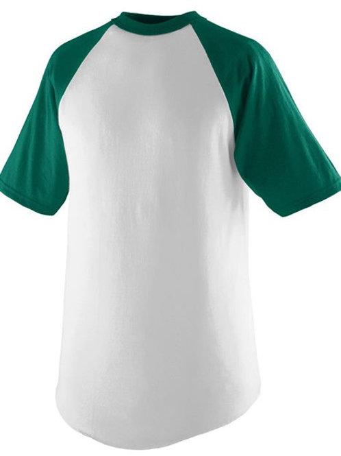 Augusta Sportswear - Youth Short Sleeve Baseball Jersey - 424