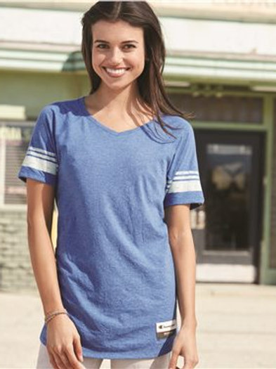 Champion - Women's Originals Triblend Varsity Tee - AO350