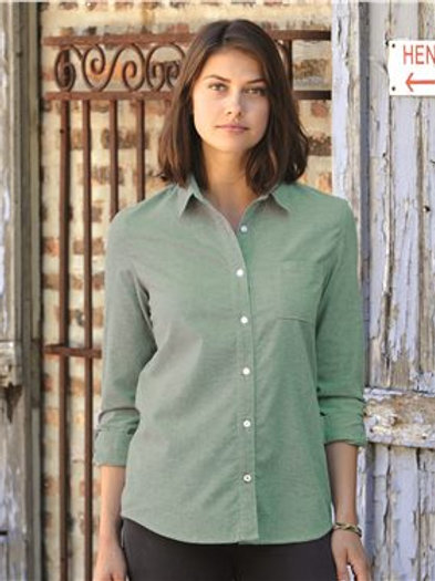 Weatherproof - Women's Vintage Stretch Brushed Oxford Shirt - W198331
