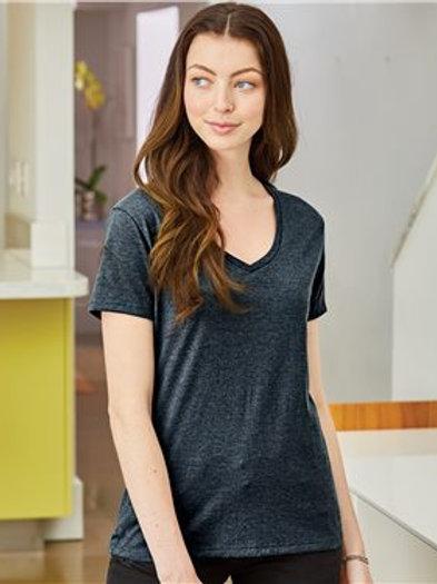 Hanes - Nano-T® Women's V-Neck T-Shirt - S04V