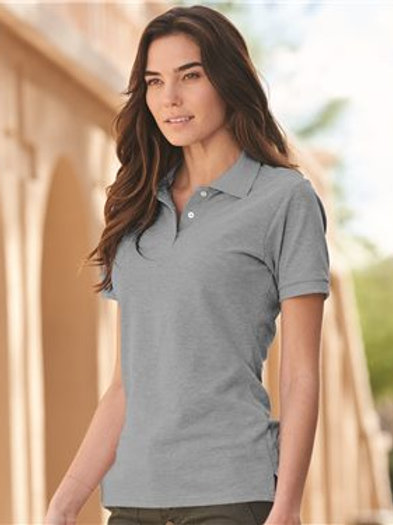 JERZEES - Women's 100% Ringspun Cotton Pique Sport Shirt - 443W