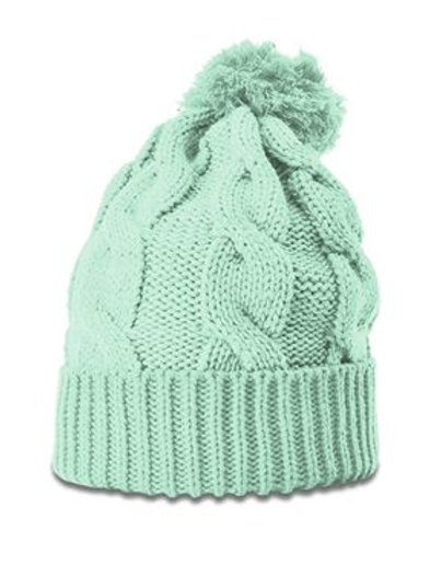 Richardson - Chunk Twist Knit Beanie With Cuff - 141