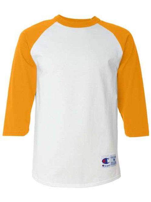 Champion - Three-Quarter Raglan Sleeve Baseball T-Shirt - T137