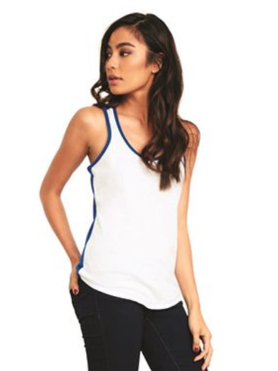Next Level - Women's Ideal Colorblock Racerback Tank - 1534