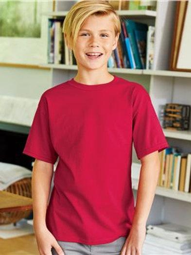 Hanes - Nano-T® Youth Short Sleeve T-Shirt - 498Y