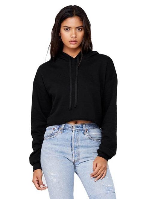 BELLA + CANVAS - Women's Cropped Fleece Hoodie - 7502