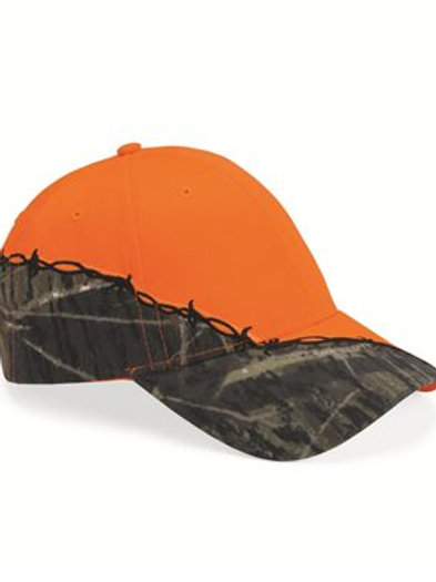 Kati - Licensed Camo Cap with Barbed Wire Embroidery - LC4BW