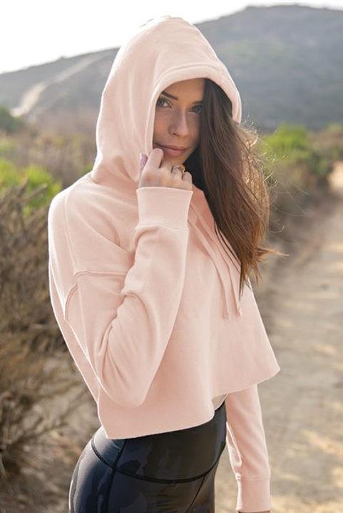ndependent Trading Co. - Women's Lightweight Cropped Hoody Sweatshirt - AFX64CRP