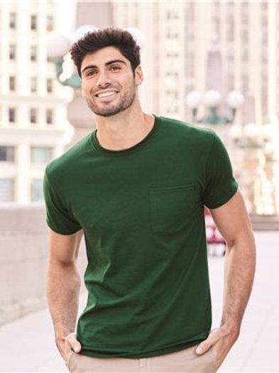 JERZEES - Dri-Power® 50/50 T-Shirt with a Pocket - 29MPR