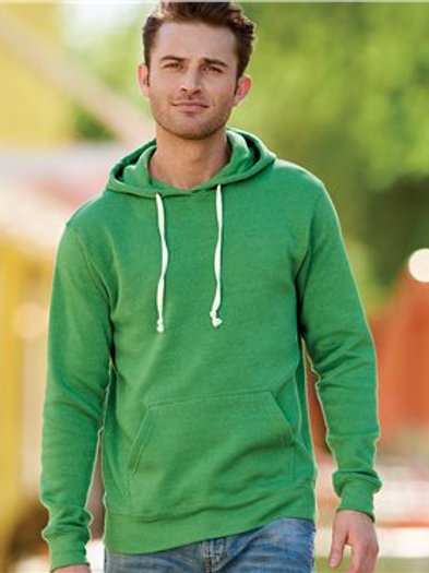 J. America - Triblend Hooded Sweatshirt - 8871
