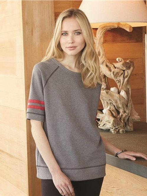 Alternative - Women's Vintage French Terry Fifty Yardliner Sweatshirt - 5066