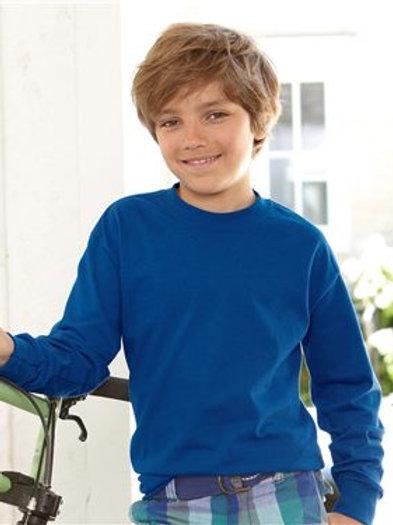 Hanes - Tagless Youth Long Sleeve T-Shirt - 5546