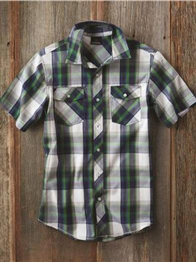Burnside - Short Sleeve Plaid Shirt - 9202