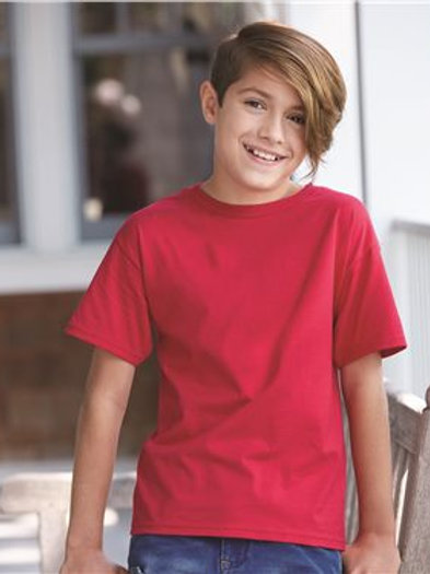 Hanes - Nano-T Youth T-Shirt - 498Y