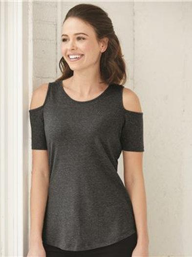 Boxercraft - Women's Cold Shoulder T-Shirt - T32