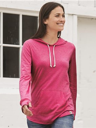 Champion - Women's Originals Triblend Hooded Pullover - AO150