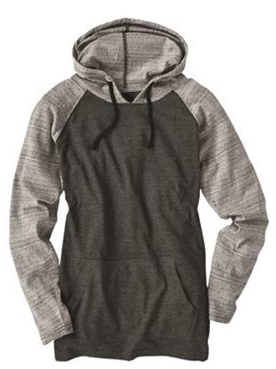 Burnside - Yarn-Dyed Raglan Hooded Pullover - 8127
