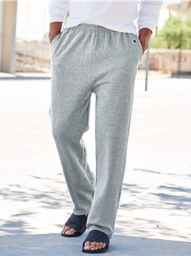 Champion - Double Dry Eco® Open Bottom Sweatpants with Pockets - P800