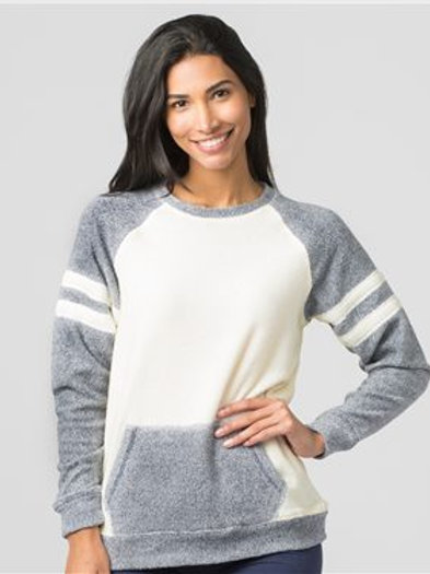Boxercraft - Women's Cozy Contrast Fleece Pullover - L04