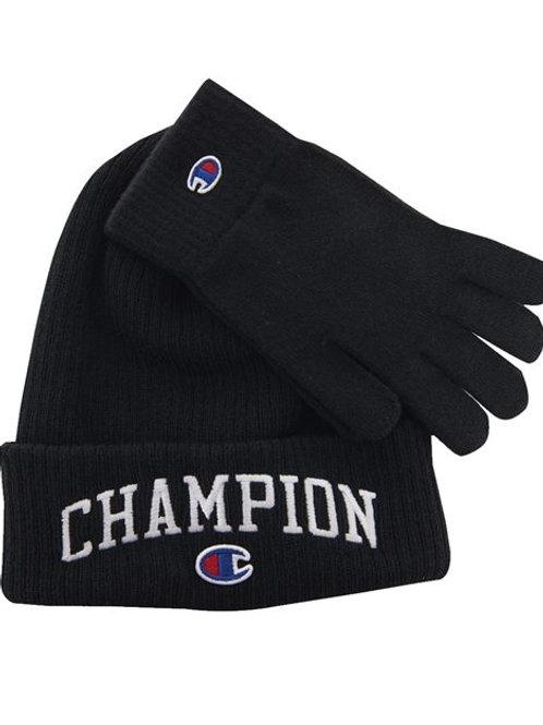 Champion - Limited Edition Icon Beanie & Glove Set - CHS2019