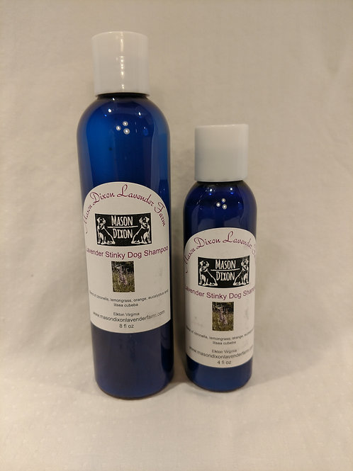 Lavender Stinky Dog Shampoo 8 OZ