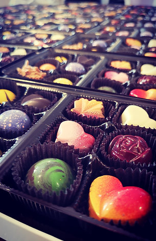 Boitiers de chocolats