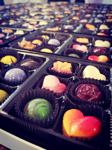 Boitier de chocolats