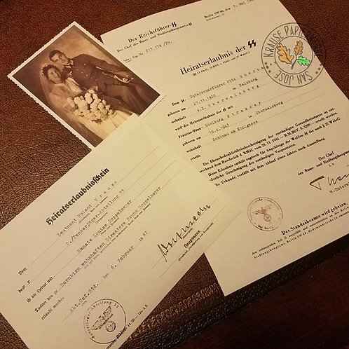 Marriage Permit for a Soldier