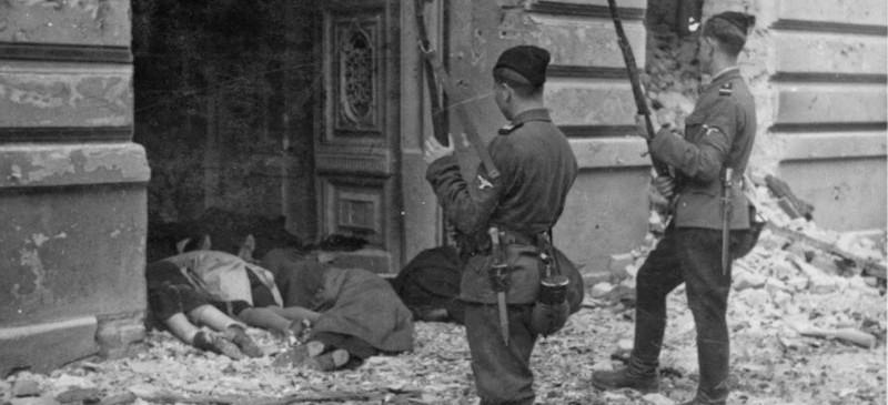 Civilian victims of Warsaw Upraising