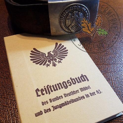 BDM/JM Achievments Booklet - reproduction (Jungmädelbund / Bund Deutscher Mädel Leistungsbuch)