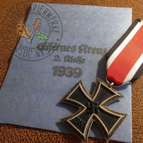 Reproduction of Iron Cross (Eisernes Kreuz) packet / envelope - Forster & Graf, Godet, Feix, Reif, Souval, Hammer, Maurer
