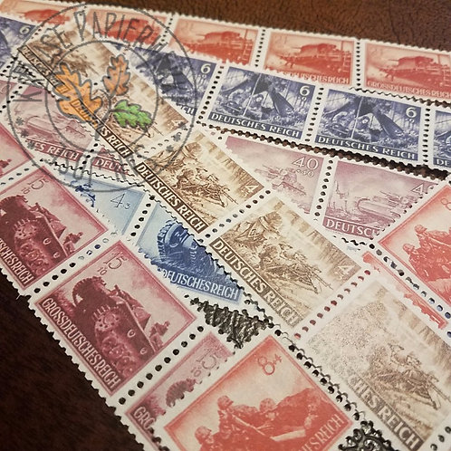 Post Stamps (Army) - strip of 5