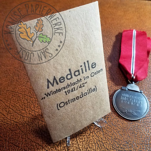 Eastern Front Medal - Envelope