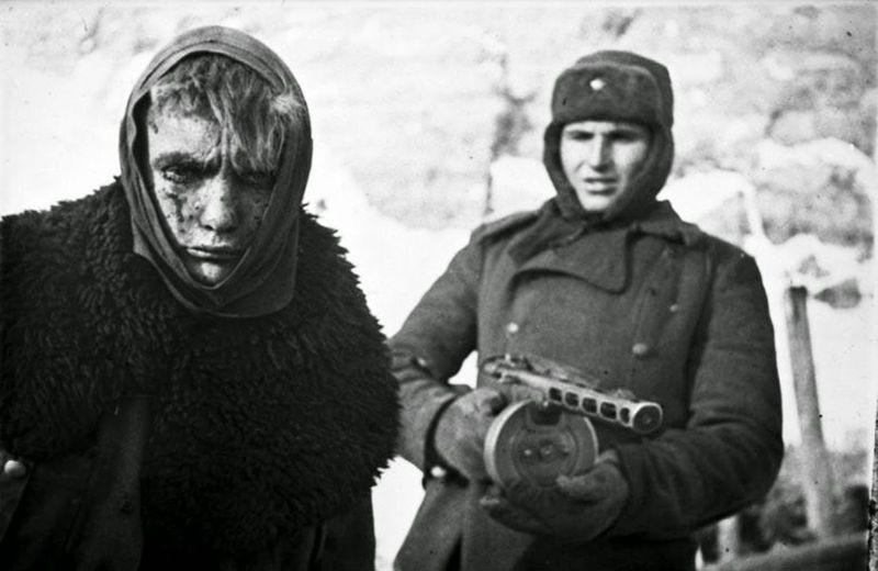German soldier in Soviet captivity