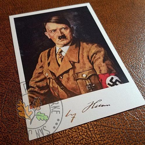 Adolf Hitler - Postcard