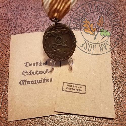 West Wall Medal - Envelope