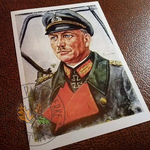 Heinz Guderian - Postcard