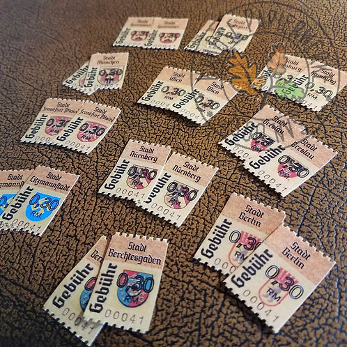 City Revenue Stamps